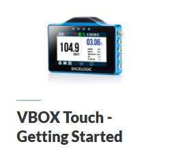 VBOX Touch Tutorial